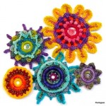 Crocheted Floral Medallions