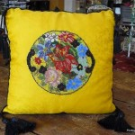 Pillow Beaded Needlepoint P1100499