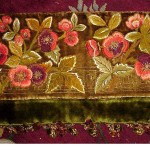 Embroidered Velvet Pelmet