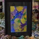Layered Marbling Framed P1050158-3