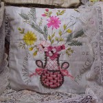 Souvenir de France Pillow Cases Antique MVC-664F