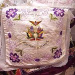 Souvenir  de France Pillow Cases Antique Mvc-668f