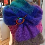 Spectrum Shawl w Inlayed Straight Shawl Pin 1