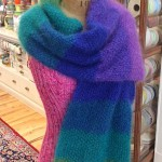 Spectrum Shawl w Inlayed Straight Shawl Pin 3