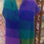 Spectrum Shawl w Inlayed Straight Shawl Pin 4