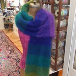Spectrum Shawl w Straight Shawl Pin 4