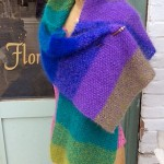 Spectrum Shawl w Straight Shawl Pin 5