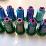 17-Sapphire Sea Silk thread
